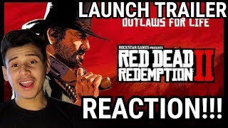 Red Dead Redemption 2 Launch Trailer -REACTION!!!!