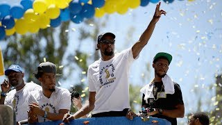 Best Moments From the Golden State Warriors Championship Parade