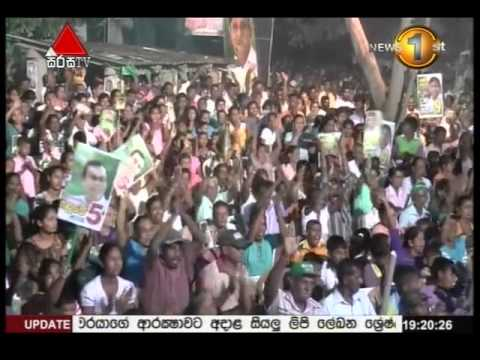 News 1st Prime Time Sirasa Tv  News 10th Agust 2015