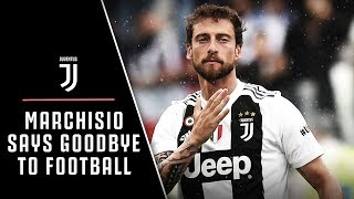 Claudio Marchisio says goodbye to football. Thank you for everything Principino!