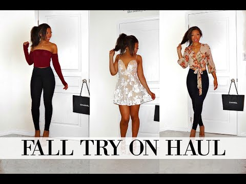 AFFORDABLE FALL TRY ON HAUL Feat: Fashion Nova
