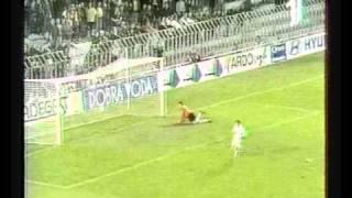 Серия пенальти Спарта Динамо 1998