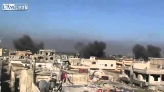 Syria - SAF MIG full download over Homs 15/01
