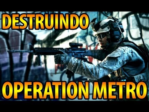 DESTRUINDO OPERATION METRO TDM [1337 GAMEPLAY]