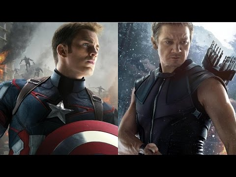 Chris Evans & Jeremy Renner Talk Avengers 2