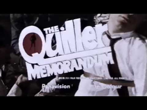 The Quiller Memorandum (1966) - Trailer