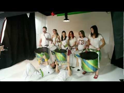 Samba de Riga in the Pineapple Studios!