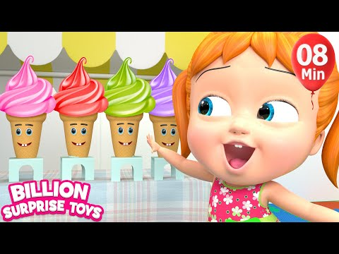 One Little Ice Creams |+More BST Kids Songs & Nursery Rhymes
