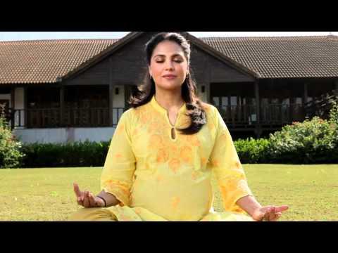 Lara Dutta Meditation Yoga