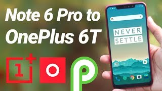 Install Oxygen OS Pie on Redmi Note 6 Pro