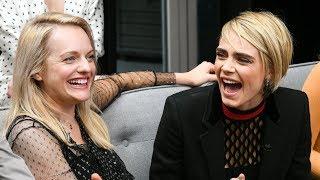 """Elisabeth Moss & Cara Delevingne on """"Her Smell"""" - TIFF 2018"""