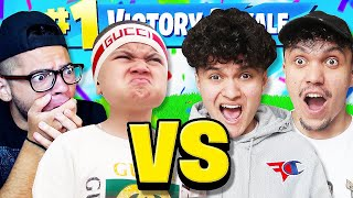 MindofRez & Little Brother Vs FaZe Jarvis & FaZe Kay (Fortnite Duos 1v1)