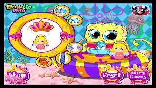 SpongeBob and Patrick Funny Baby Games for Kids