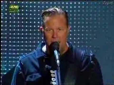 Metallica - Bleeding me - Rock in Rio 2008 Lisboa