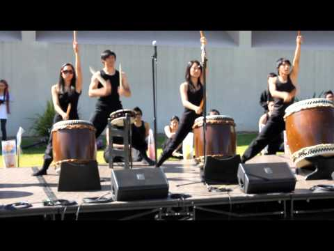 Touzan Taiko @ 2013 CPP Asian Lunar New Year Festival (pt. 1)