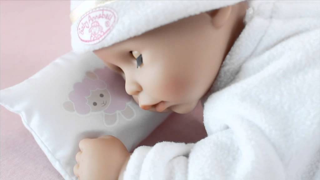 My First Baby Annabell - Time to Sleep - YouTube