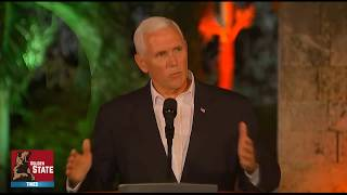BREAKING VP Mike Pence Responds to President Donald Trumps comments on Charlottesville Virginia