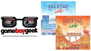 Railroad Ink Review with the Game Boy Geek