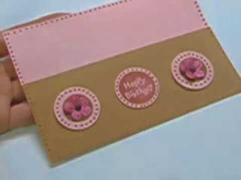 Ku-Ku CARD Cheap and Cute Flower Embellishment