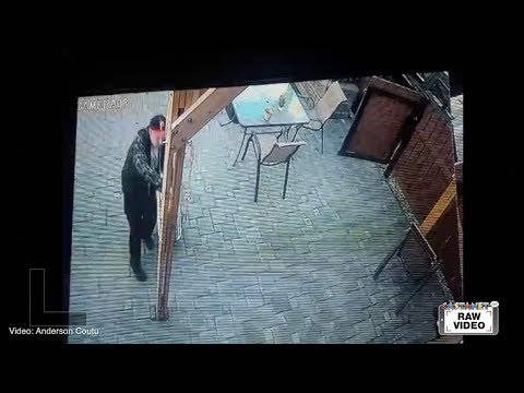 Raw: Property theft caught on tape thumbnail