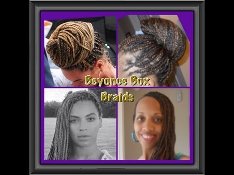 Beyonce Box Braids Hairstyles