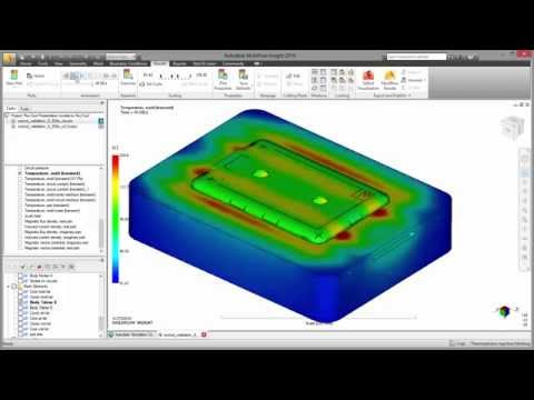 New Induction Heating In Autodesk Moldflow 2016