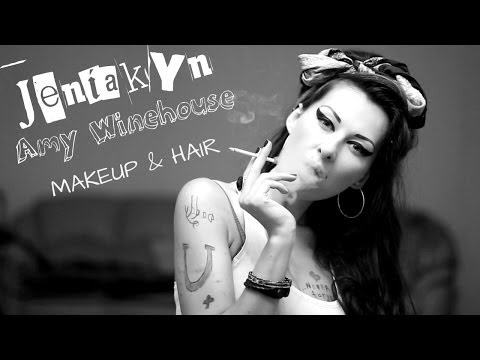 Превращение в Amy Winehouse! Transformation Makeup Hair Макияж