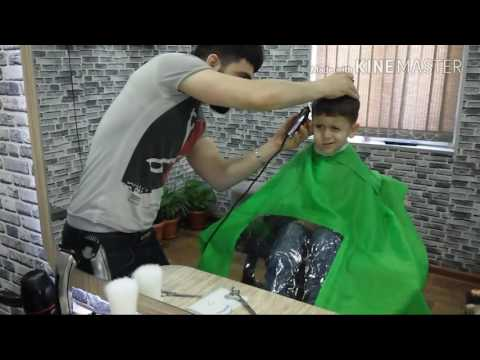 Best Barber In The Baku 2017/Stilist Rəşad/How To Do Faded Design Haircut/Sac Modeli/Men Hair 2017/