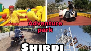 Exploring SHIRDI - Arjun's adventure park | #vlog 2 //must watch.