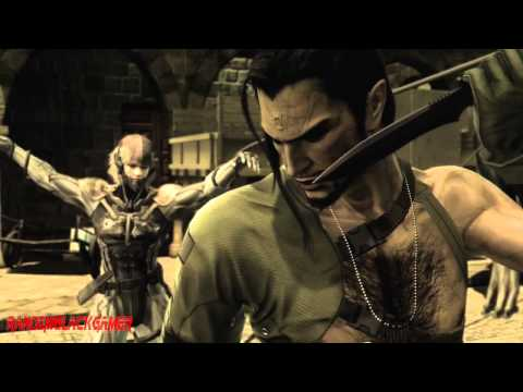 Metal Gear - Solid 4 - All Cutscenes  Movie In Hd video