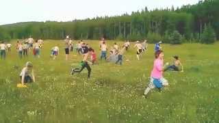 Braveheart wide game at Alberta Pioneer Camps!