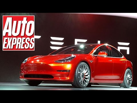 The new Tesla Model 3 is here! Details on electric 3 Series rival