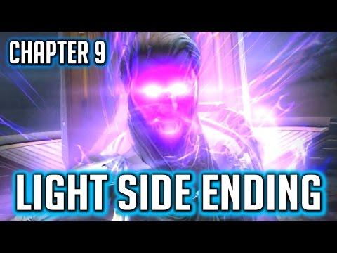SWTOR KOTET ► Chapter 9 Light Side Ending - Arcann & Senya Live, The Outlander is a Peacekeeper