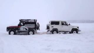 Toyota Land Cruiser 70 vs Land Rover Defender