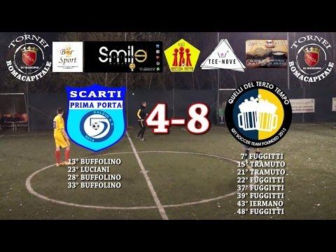 TORNEI ROMA CAPITALE - Ca5 - Serie A - 8° Giornata - SCARTI PRIMA PORTA - QTT xxx° MUNICIPIO 4-8