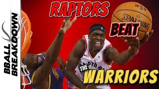Raptors Take Advantage Of Warriors In Game 1