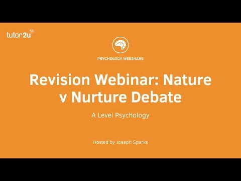 psychology of nature and nurture debate essay One of the oldest arguments in the history of psychology is the nature vs nurture debate each of these sides have good points that it's really hard to decide whether a person's development is predisposed in his dna, or a majority of it is influenced by this life experiences and his environment.