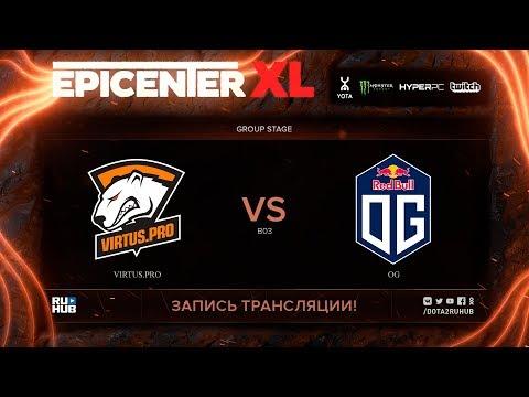 Virtus.pro vs OG, EPICENTER XL, game 1 [v1lat, godhunt]