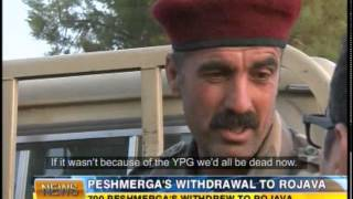 YPG Save Peshmergas