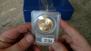 PCGS Restoration on an 1898-S $20 Gold Coin now in MS64+