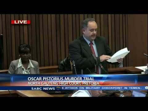 Oscar Pistorius Trial: 24 Monday 2014, Session 3