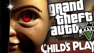 The NEW Childs Play MOVIE MOD w/ Chucky (GTA 5 PC Mods Gameplay)