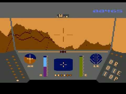 Atari XL/XE - Rescue on Fractalus [Lucasfilm Games] 1985