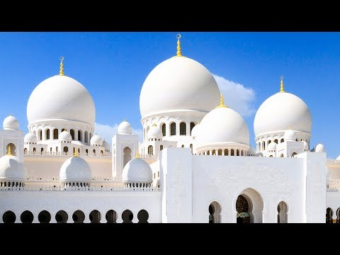 Abu Dhabi - Visit the Sheikh Zayed Grand Mosque