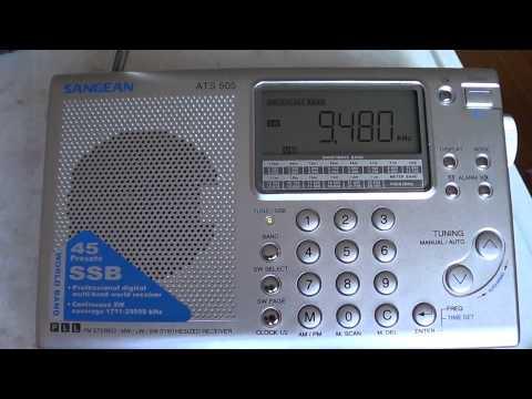China radio international french sangean ats 505