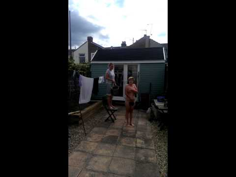 Naked Woman Does Ice Bucket Challenge!!!! video