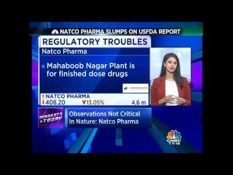 Natco Pharma Slumps On USFDA Report
