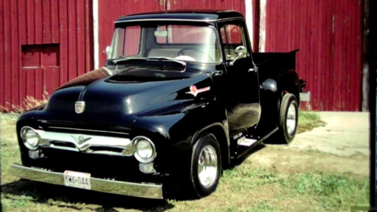 1956 ford pickup truck youtube. Black Bedroom Furniture Sets. Home Design Ideas