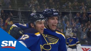Blues Score Twice In Eleven Seconds Against Panthers