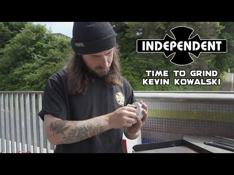 Kevin Kowalski Grinds Entire Skatepark! TIME TO GRIND | Independent Trucks